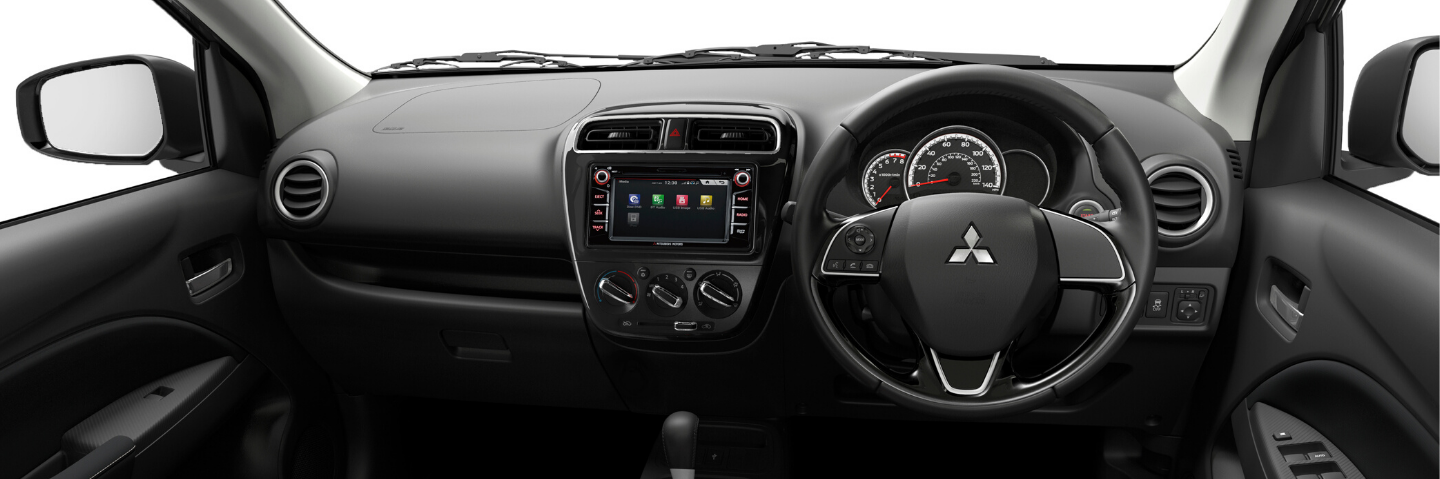 New Mitsubishi Mirage interior